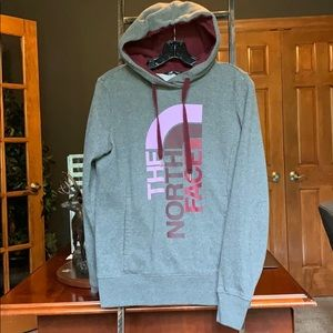 North face like new hoodie small